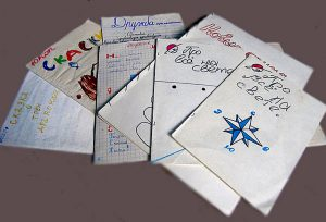 Детские рукописные журналы. Фото: rusbatya.ru