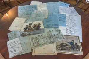 Страницы из рукописных журналов Цараскосельского Лицея. Фото: deletant.livejournal.com