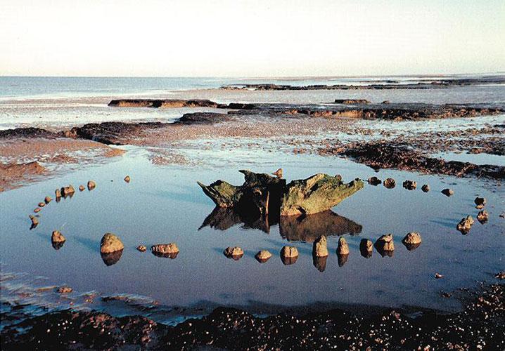 Сихендж – деревянный кромлех на побережье графства Норфолк, Великобритания