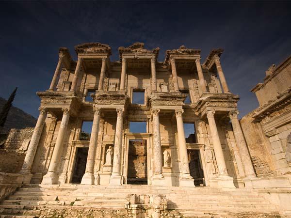 Руины Александрийской библиотеки