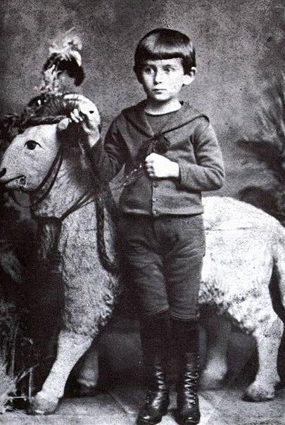 Франц Кафка. 5 лет.