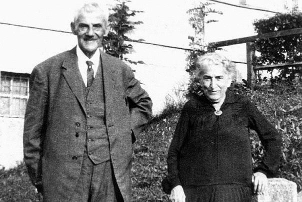 Родители Франца Кафки в старости.