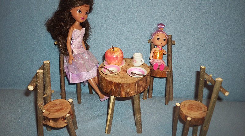 Мебель для кукол своими руками из подручных материалов 92