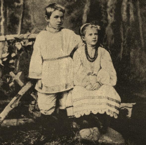 Fedor-i-Ljubov-Dostoevskie-deti-pisatelja