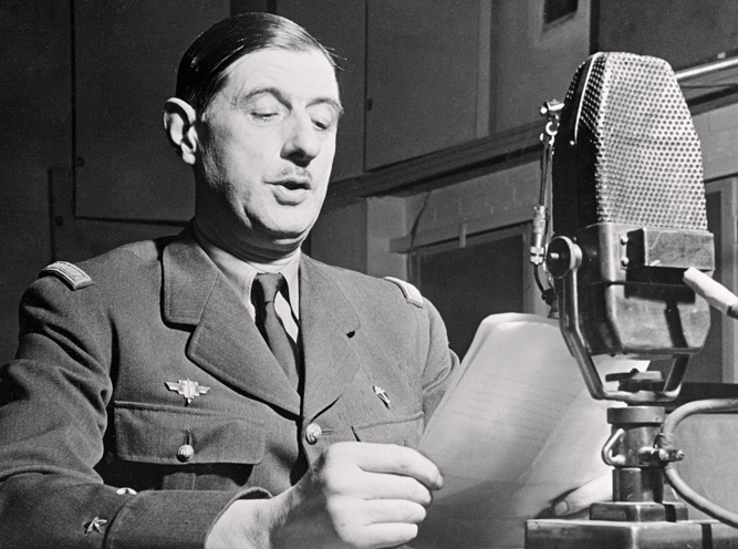 Шарль де Голль, 1941 г. Источник: bridgemanart.com