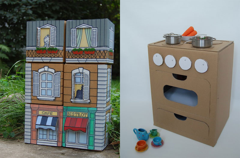 Печка для кукольного домика своими руками 45
