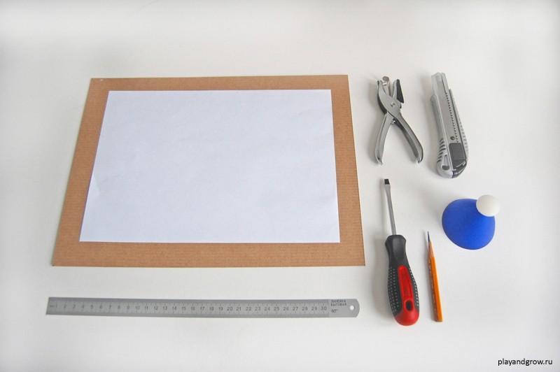 Как сделать рамку для рисунку своими руками