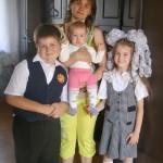 1-е сентября — все в школу! (Всей семьёй)