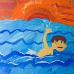 Рекордный заплыв