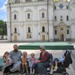В Киеве. (Всей семьёй)