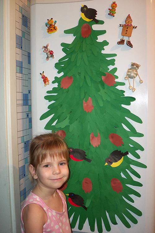Семейная елка. Мастер-класс