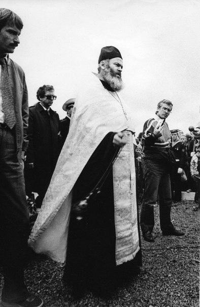 Священник Константин Островский, фото из семейного архива.