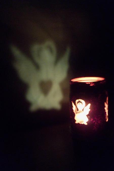 Рождественский светильник из обычной банки