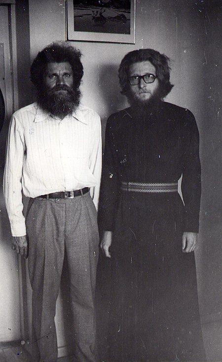 Диакон Геннадий Фаст и его брат Вильгельм