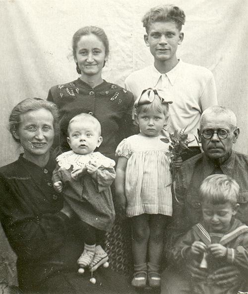 Семья Фаст в ссылке