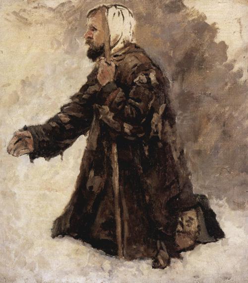 В.И.Суриков. Юродивый