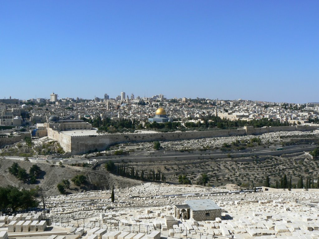 Вид на Иерусалим с Елеонской горы. panoramio.com, фото: agus75
