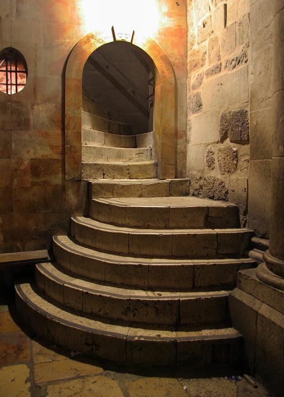 Лестница, ведущая к месту Распятия. photosight.ru. Фото: Виктор Велин