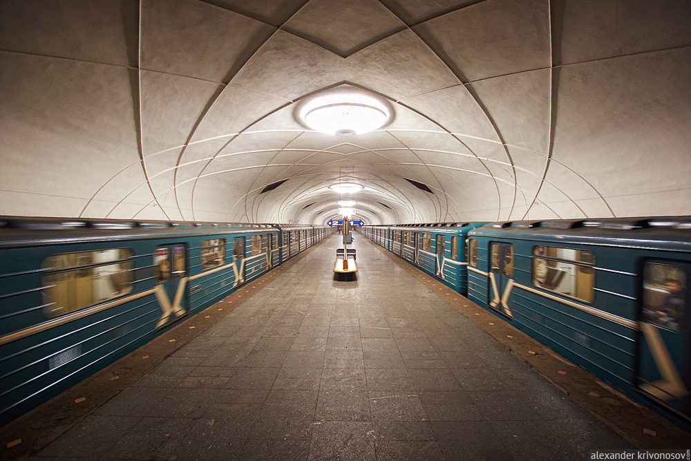 """Станция """"Аэропорт"""". Фото: photosight.ru, Александр Кривоносов"""
