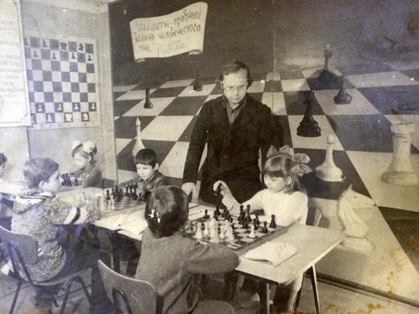 "Фото из архива шахматной школы ""Каисса"""