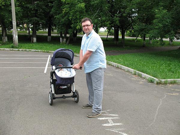Алексей Трешин с сыном