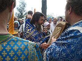 Чтение Евангелия на праздник Казанской иконы Божией Матери, 2007 год