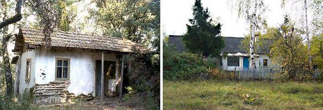 Слева: Родной дом Семена Антонова. Фото: Grekomania.ru