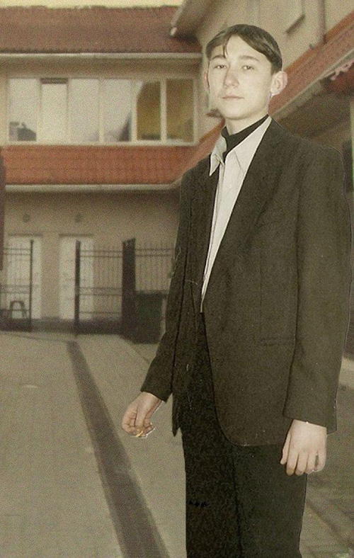 Алексей Талай до трагедии. Фото из личного архива