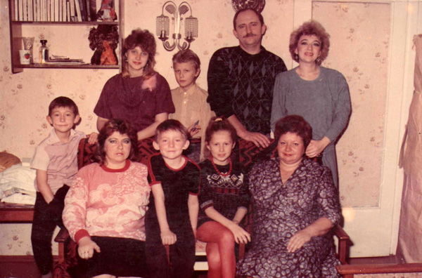 Слева Алеша Талай. Фото из личного архива