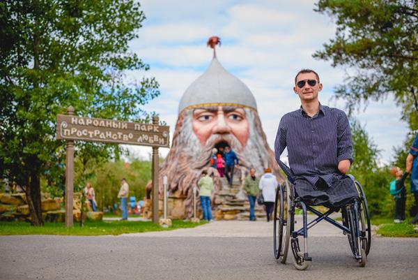 Алексей Талай в экологическом парке «Пространство детской мечты» (г.Домодедово), в развитии которого также участвует белорусский предприниматель.
