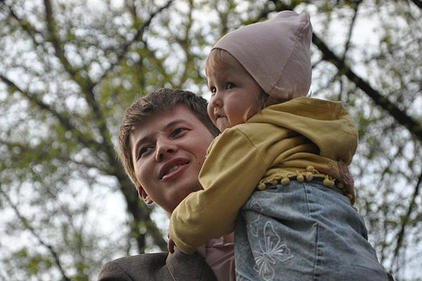 Григорий Сайфуллин с дочкой
