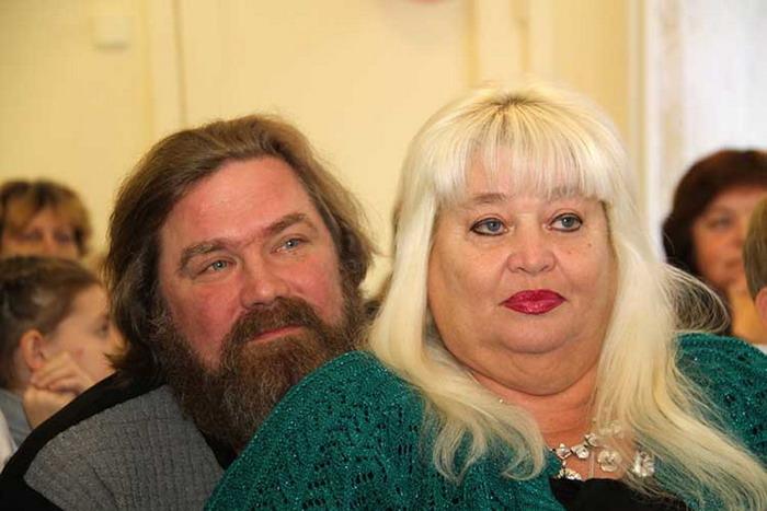Сергей и Наталья Симушины