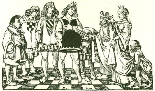 Иллюстрация: Rudolf Schiestl