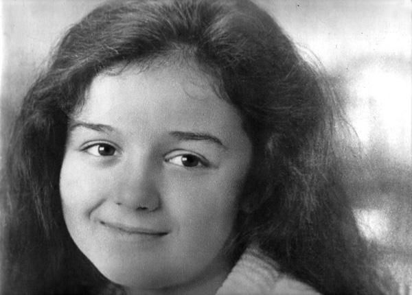 Наталья Инина в детстве