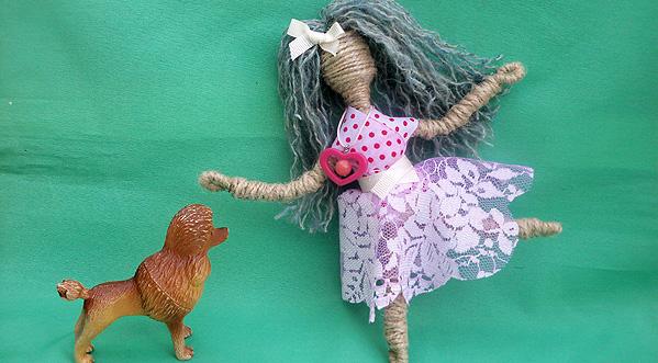 Проволочные куклы для девочек и мальчиков