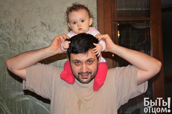 Владимир Легойда с дочкой Аней