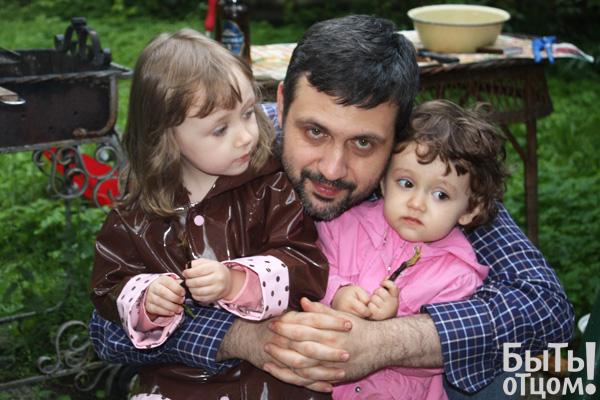 Владимир Легойда с дочками