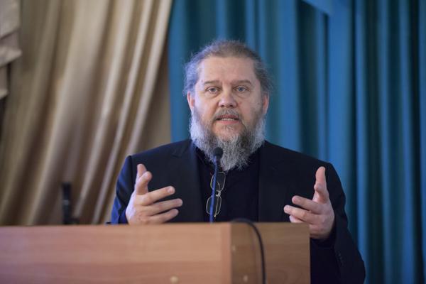 Лекция протоиерея Андрея Лоргуса. Фото: http://mitropolia.spb.ru
