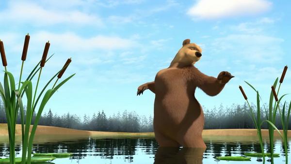 """Медведица из мультсериала """"Маша и Медведь"""""""