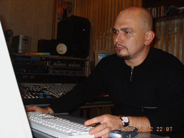 Сергей Трофимов в студии
