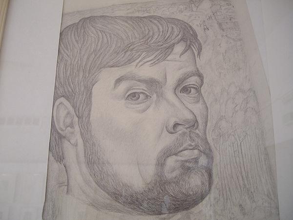 """Г. Мосин. """"Автопортрет"""". 1972 г."""