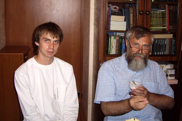 Алексей Мосин с сыном Дмитрием