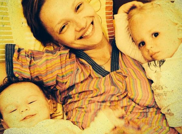 Екатерина Вилкова с детьми