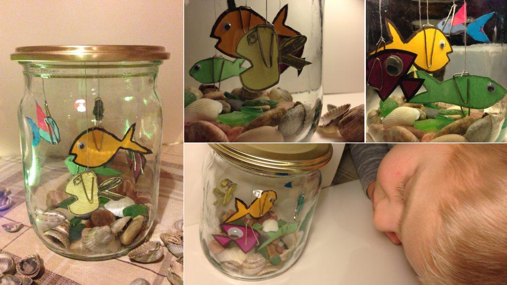Как сделать аквариум своими руками из банки